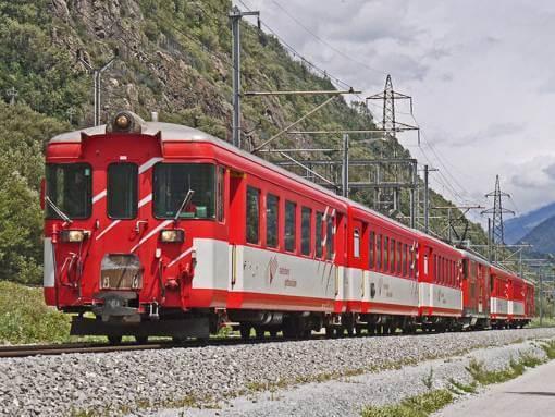 Bezienswaardigheden matterhorn gotthard trein Wallis