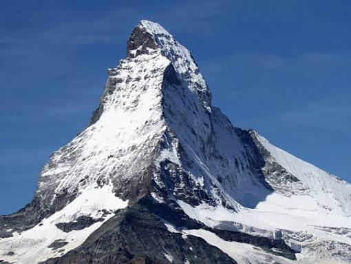 Matterhorn Zermatt Wallis Zwitserland