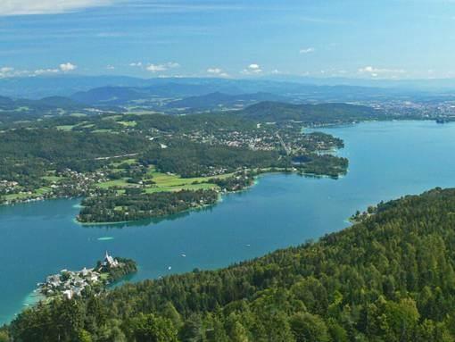 Worthersee Karinthie Oostenrijk
