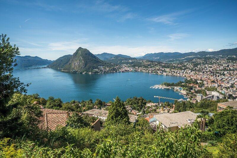 Vakantie Tessin meer van Lugano