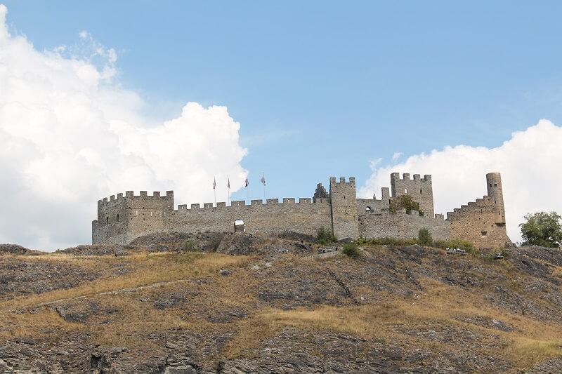 Chateau de Tourbillon Sion