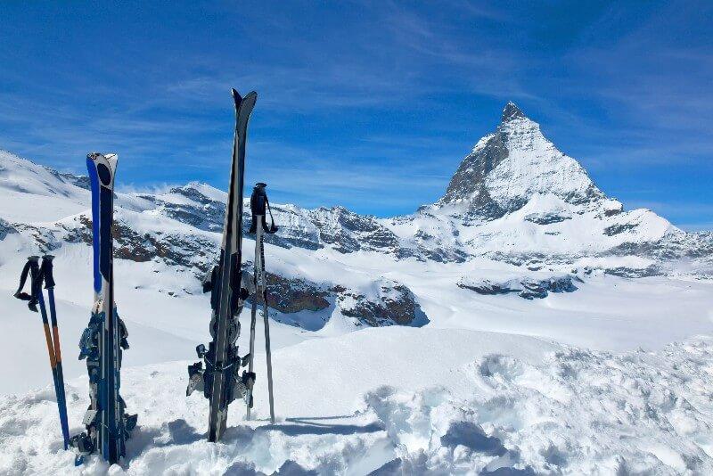 Wintersport Zwitserland Zermatt