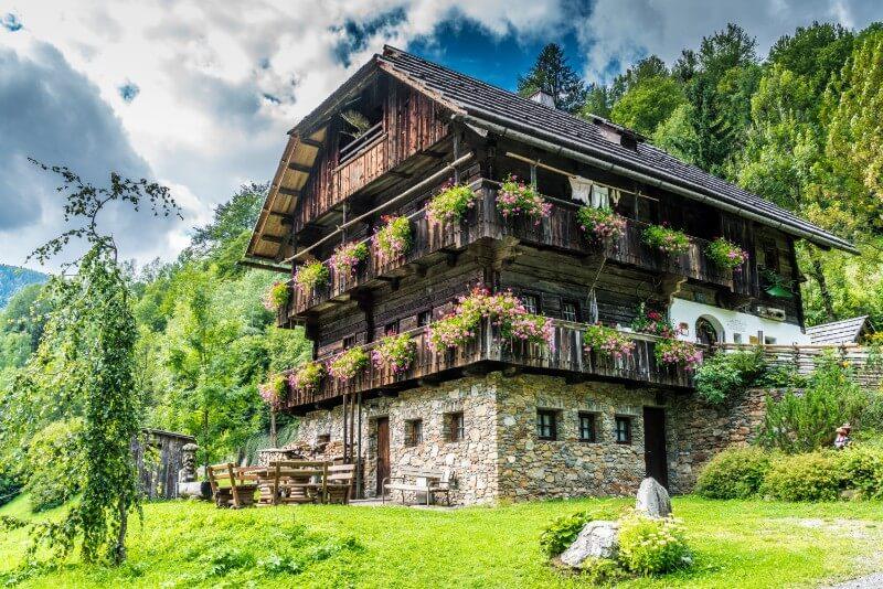 Vakantiehuis Alpen in Oostenrijk